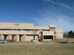 Sheridan Library is  inside the Sheridan High School