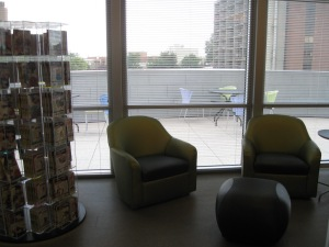 Teen area with outdoor seating