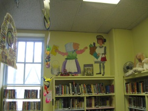 Murals and mobiles in Children's