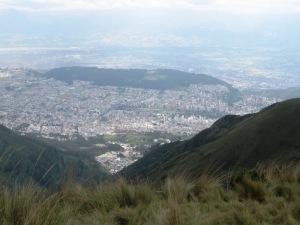Quito from El Rucu Pichincha