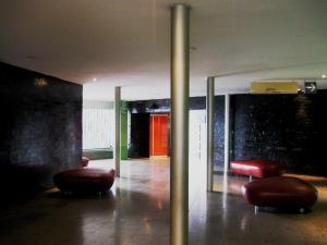 Glowing lobby