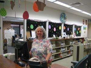 Patty at check out