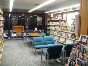 Teen section